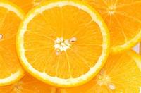 Close_up of orange slices