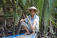 Excursion in the Mekong Delta, Vietnam