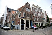 Jordaan District, Streetcorner, Jordaan, Amsterdam