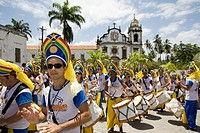 Street Carnival in Olinda near Recife, Pernambuco, Brazil