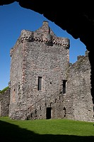 Skipness Castle in Kintyre, Scotland, USA