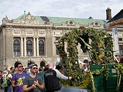 -Erntedankfest- Wien (Austria).