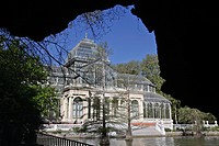 THE CRYSTAL PALACE, PARQUE DEL BUEN RETIRO, MADRID, SPAIN