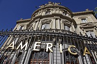 PALACIO DE LINARES, HOUSE OF AMERICA CASA AMERICA, PLAZA DE CIBELES, MADRID, SPAIN