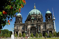 Berliner Dom Cathedral in Unter den Linden street, Berlin, Germany