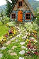 Little house in Luchon, France