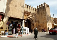 Bab Smarine, Fez El Jedid, Fes, Morocco.