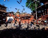 Nepal, Katmandu, Durbar Square