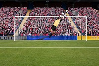 Goalkeeper saving a goal (thumbnail)