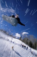Snowboarding in Aspen, Colorado                                                                                                                       ...