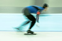 Speedskater in action                                                                                                                                 ...