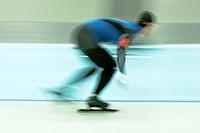 Speedskater in action ...