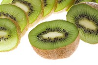 Slices of kiwi fruit                                                                                                                                  ...
