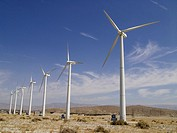 Wind farm just outside Palm springs CA