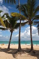 Dominican Republic, Punta Cana Region, Bavaro, Bavaro beach