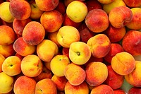 Peaches pattern texture fruit market peach background