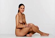 Naked woman´s portrait