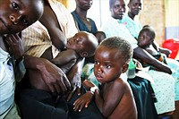 displaced people in Uganda