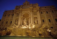 Italy, Rome. Trevi´s Fountain