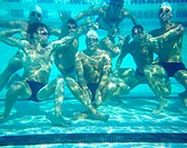 Swim Team Underwater