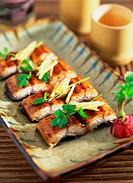 Japanese food,eel Teriyaki