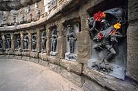 India, Orissa, Bhubaneswar. Yogini temple