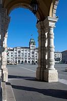 Italy, Friuli, Trieste, Unità d´Italia Square.