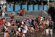 Nepal. Katmandu. Pashupatinath temple