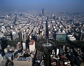 Mexico Mexico City Aerial view