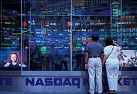 USA, New York, NASDAQ