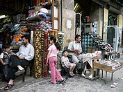 SYRIA  In the bazaar district, Aleppo