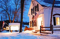 Winter, Chester, Vermont