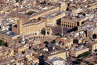 Italy, Apulia, Lecce aerial view