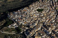 Italy, Basilicata, Pomarico, aerial view