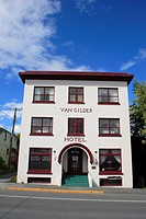 Van gilder hotel , Seward , Kenai peninsula borough , Alaska , U.S.A. United States of America