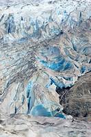 Mendenhall glacier , Juneau , Alaska , U.S.A. United States of America