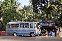 Public Transport , UNESCO World Heritage Site , Old Goa , Velha Goa , India