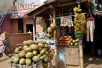 shop , Kamalapur , Hampi , Vijayanagara 1336_1726 A.D. , UNESCO World Heritage Site , Deccan Plateau , Taluka Hospet , District Bellary , State Karnat...