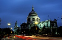 Europe, UK, England, London. St. Paul´s Cathedral.