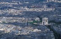 France, Paris. Arc de Triomphe