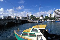 Caribbean, Barbados, The Capital Bridgetown