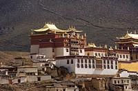 China, Yunnan, Shangri_La Zhongdian, Ganden Sumtseling Gompa monastery