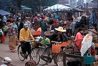 Burma, Sipaw, Shan states, market