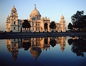 Victoria Memorial, Calcutta, Bengal, India