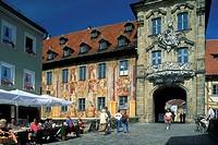 Germany, Bavaria, Bamberg, old City Hall