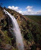Africa, Kenya, waterfall