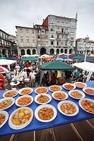 ´Marmita´ fish stew contest, Castro Urdiales, Cantabria, Spain