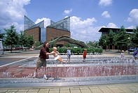 USA, Tennessee, Chattanooga, Landing Plaza