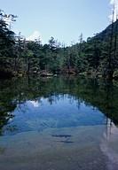 Myojin Pond in Kamikochi, Nagano Prefecture, Japan