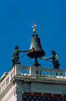Italy, Venice. Clock tower San Marco